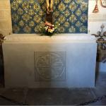 Capilla del Santo Cristo de Santa Teresa, Altar