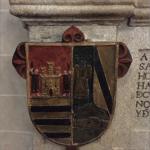 Capilla del Santo Cristo de Santa Teresa, Escudos de los Bullon.