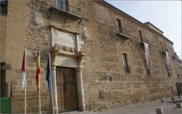 Fachada Mudéjar del Palacio de Fuensalida.