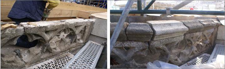 Restauración Balaustrada 2