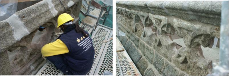 Restauración Balaustrada 3