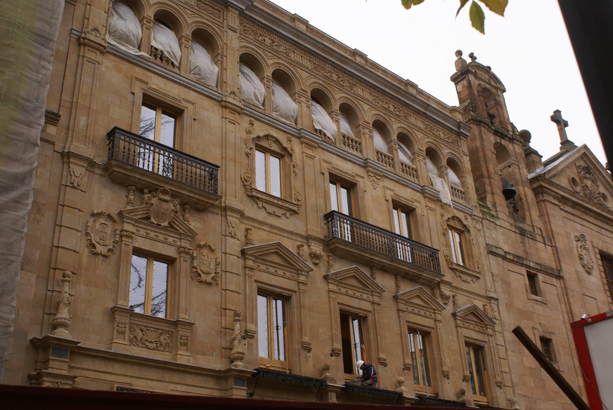 Centro documental del Archivo Histórico de Salamanca.