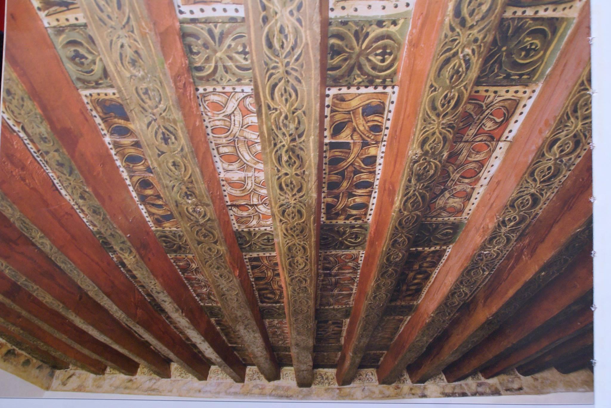 Restauración de Alfarje Consorcio de Toledo-Toledo