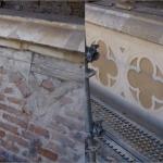 Catedral de Toledo, Balaustrada sobre Claustro del Prado