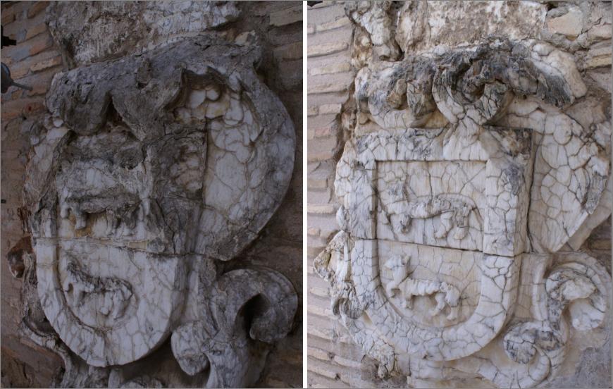 Portada Mudejar, Palacio de Fuensalida