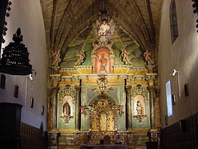 Retablo Mayor de la Iglesia de San Bartolome. Estado Final.