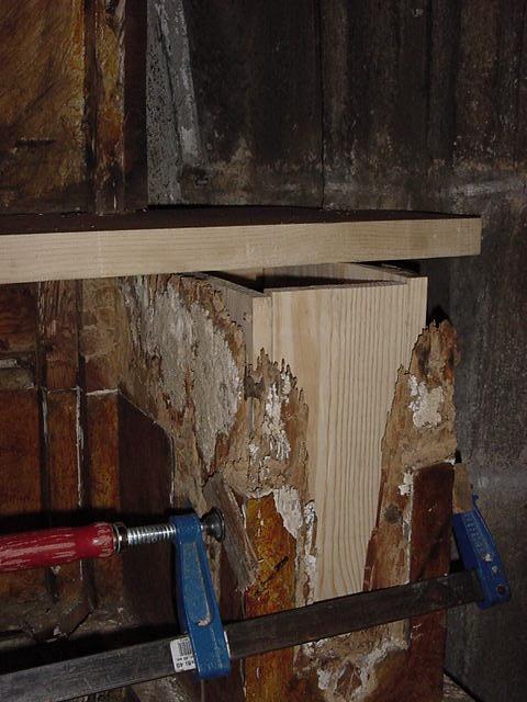 Retablo Mayor de la Iglesia de San Bartolome. Proceso de Restauración.