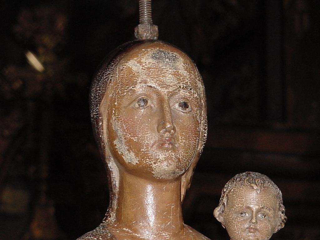 Virgen La Soterranea. Estado Inicial.