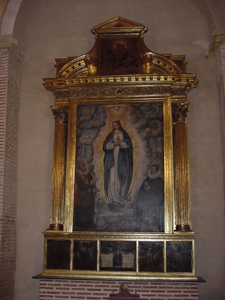 Cuadro de María Inmaculada. Estado Final.