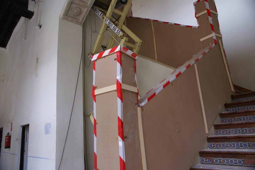 Protecciones Balaustrada Escalera Principal